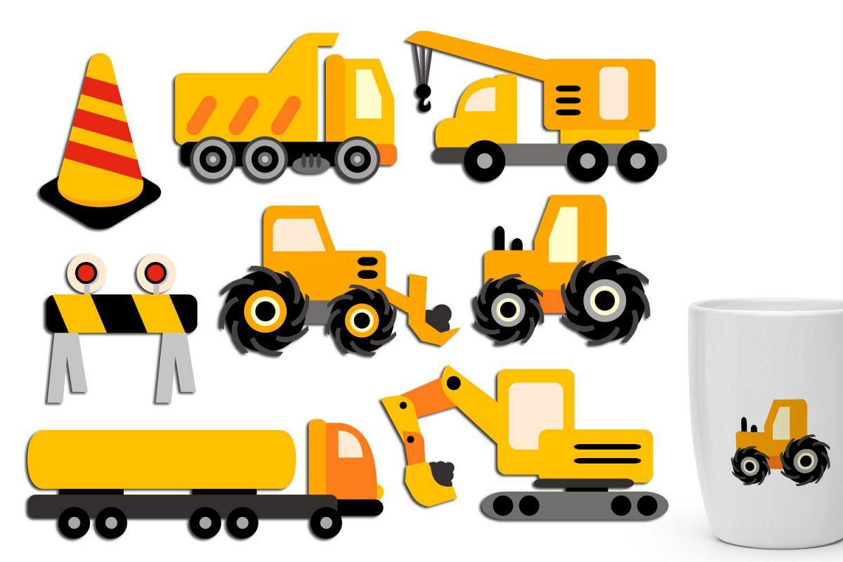 Crane clipart construction vehicle. Under clip art truck
