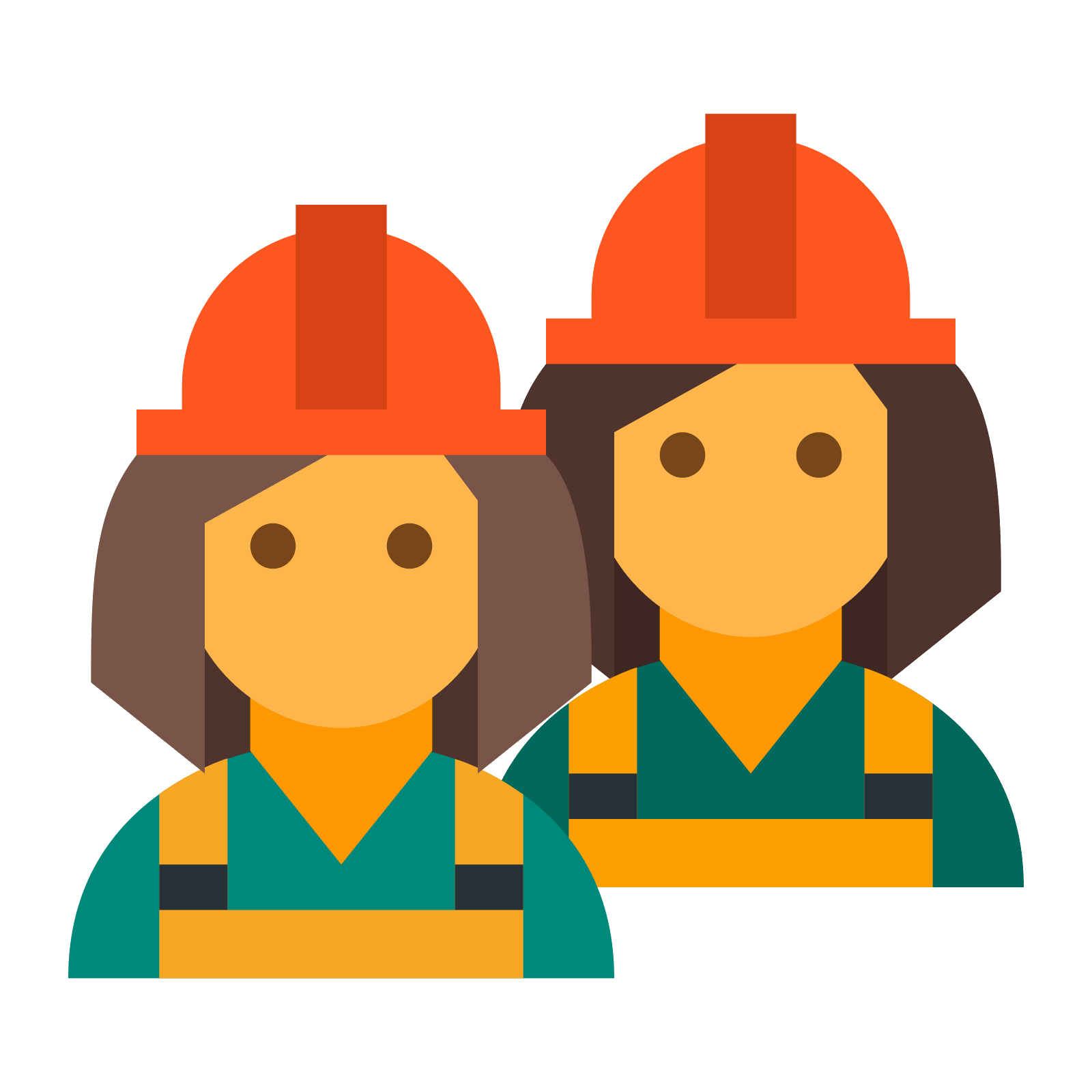 Contractor clipart transparent. Construction workers icon free