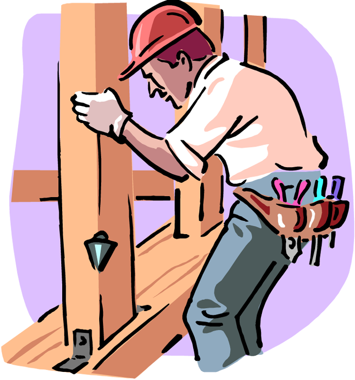 Can i be an. Contractor clipart builder