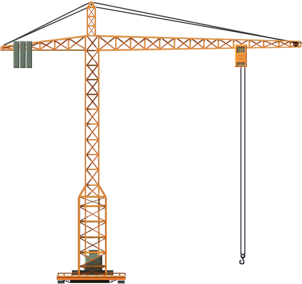 Crane clipart construction equipment. Png image purepng free