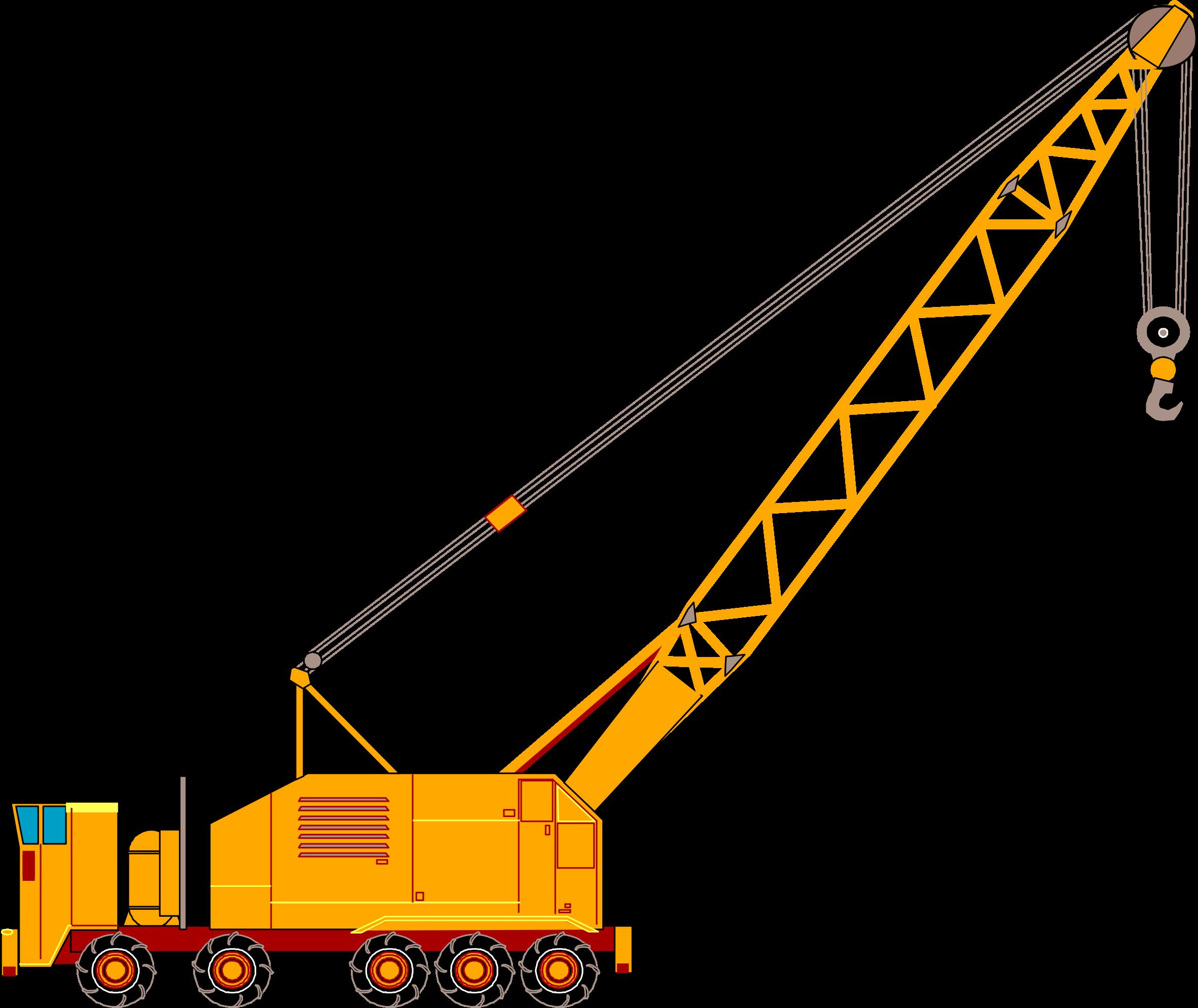 . Crane clipart construction equipment