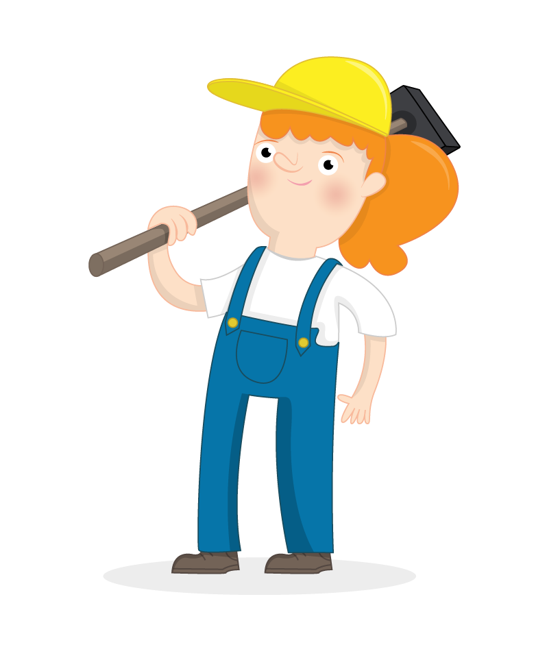 Builder programming raspberry pi. Curriculum clipart construction area
