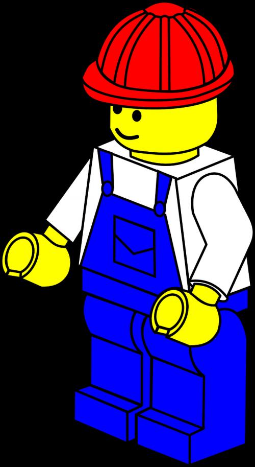 Contractor clipart construction foreman. Lego wall splash urban