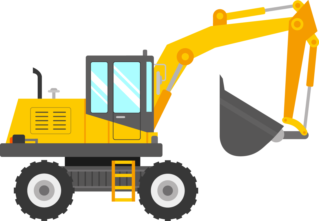 Excavator clipart crane truck. Liebherr group machine jcb