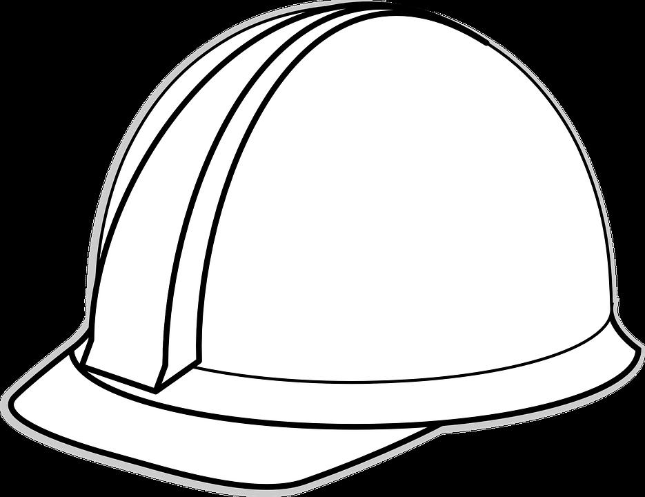 Hard hat graphics free. Helmet clipart construction worker