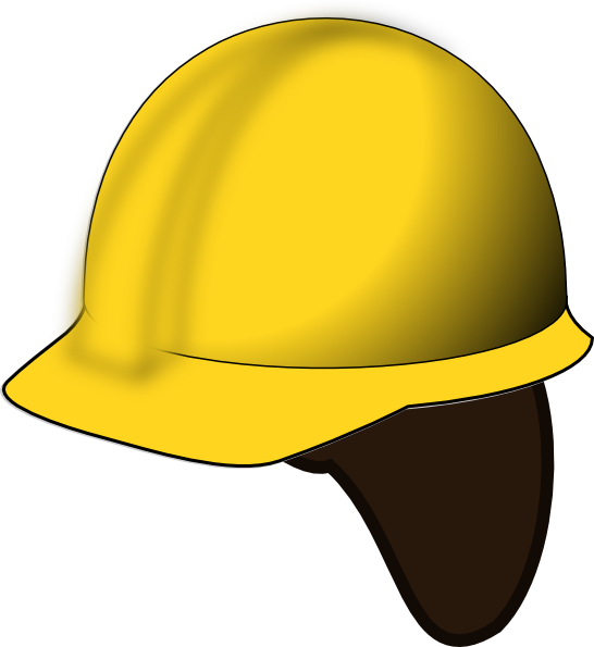 Helmet clipart construction worker. Hard hat clip art