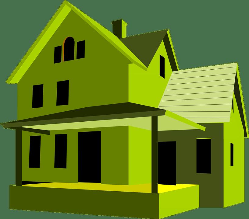 Neighborhood clipart 4 house. Green india an igbc
