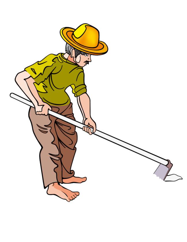 Construction clipart laborer. Farmer png image purepng