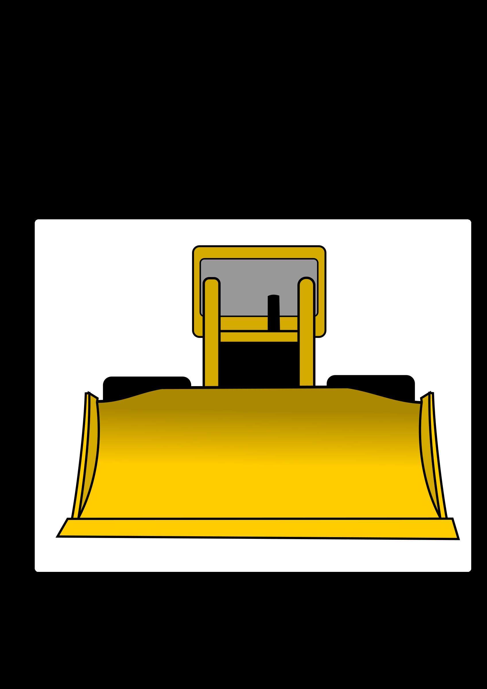 Excavator clipart loader. Big image png