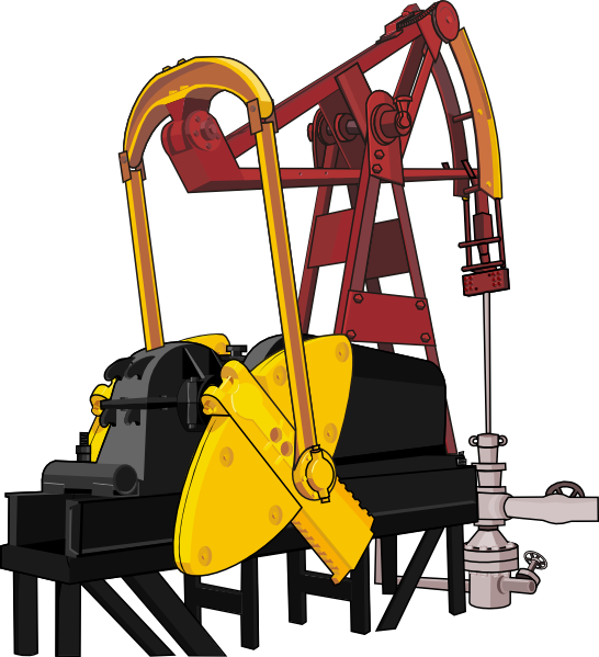 Machinery clip art at. Oil clipart digger