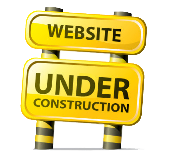 Under construction png images. Website clipart welcome home sign