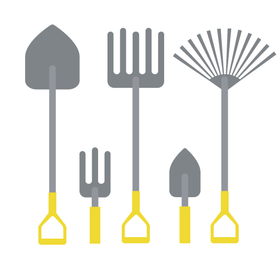 Construction clipart shovel. Tool agriculture attrezzo agricolo