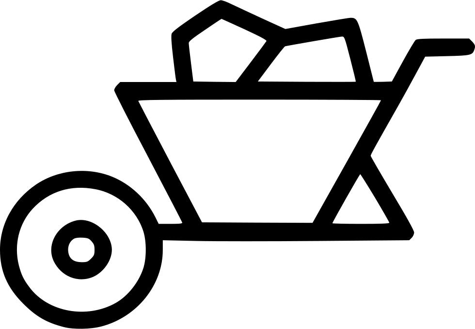 construction clipart wheelbarrow