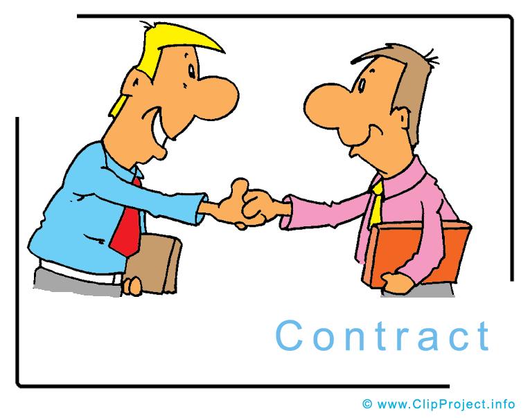 Social contract . Business clipart cartoon
