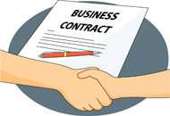 Tn business agreement jpg. Contract clipart
