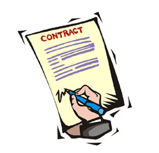 Contract clipart. Utsa office of business