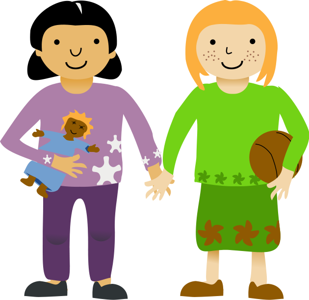 Friendly clipart two friend. Same sex adoption in