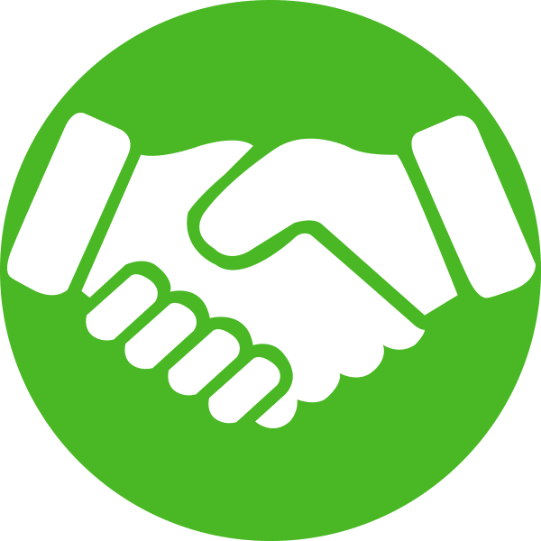 Handshake clipart brotherhood. Icon sales renewal by
