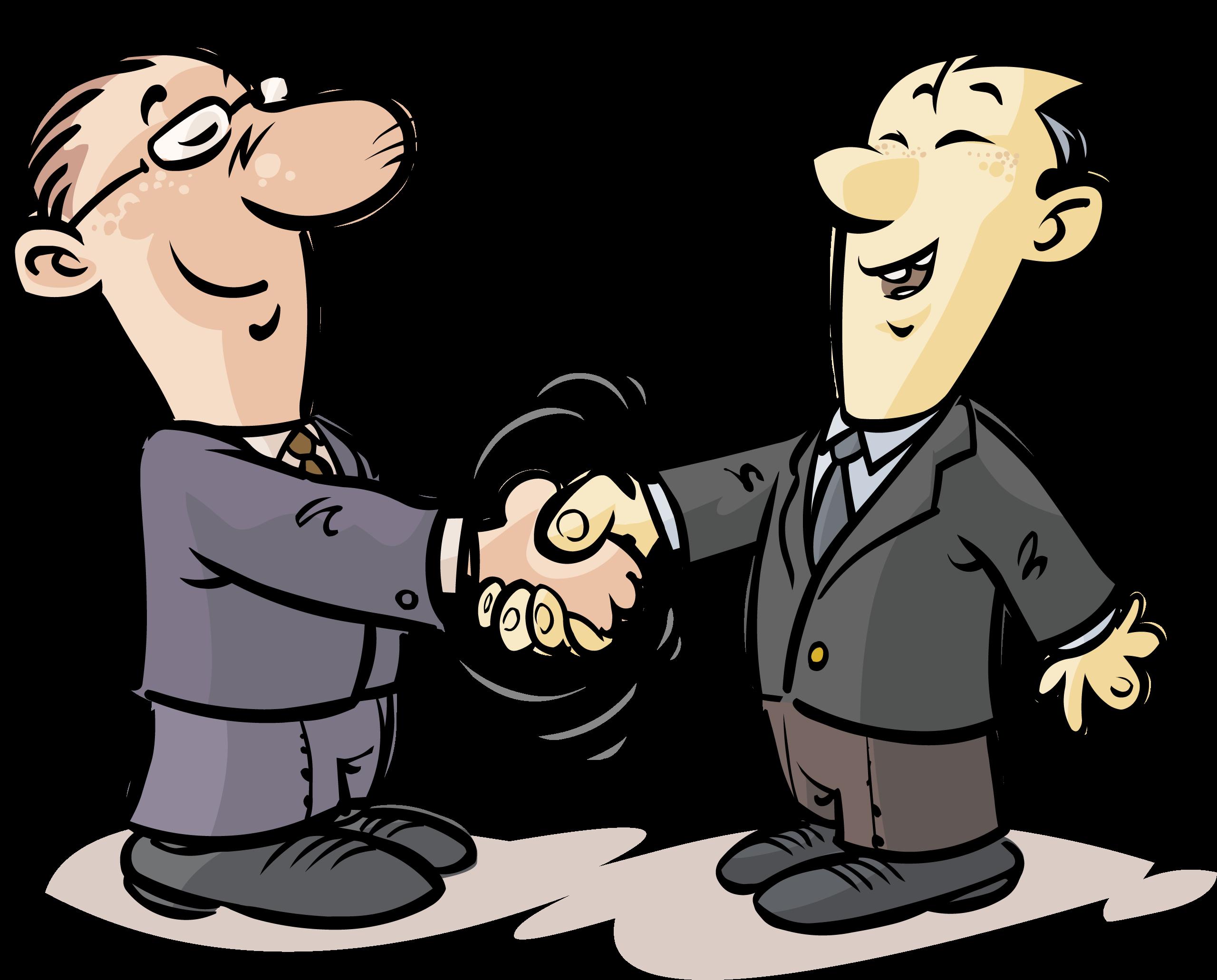 Cartoon contract clip art. Handshake clipart communication