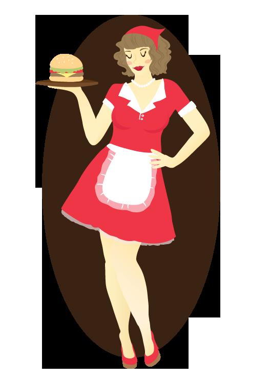 Waitress clipart fancy restaurant. Social contract the laurel