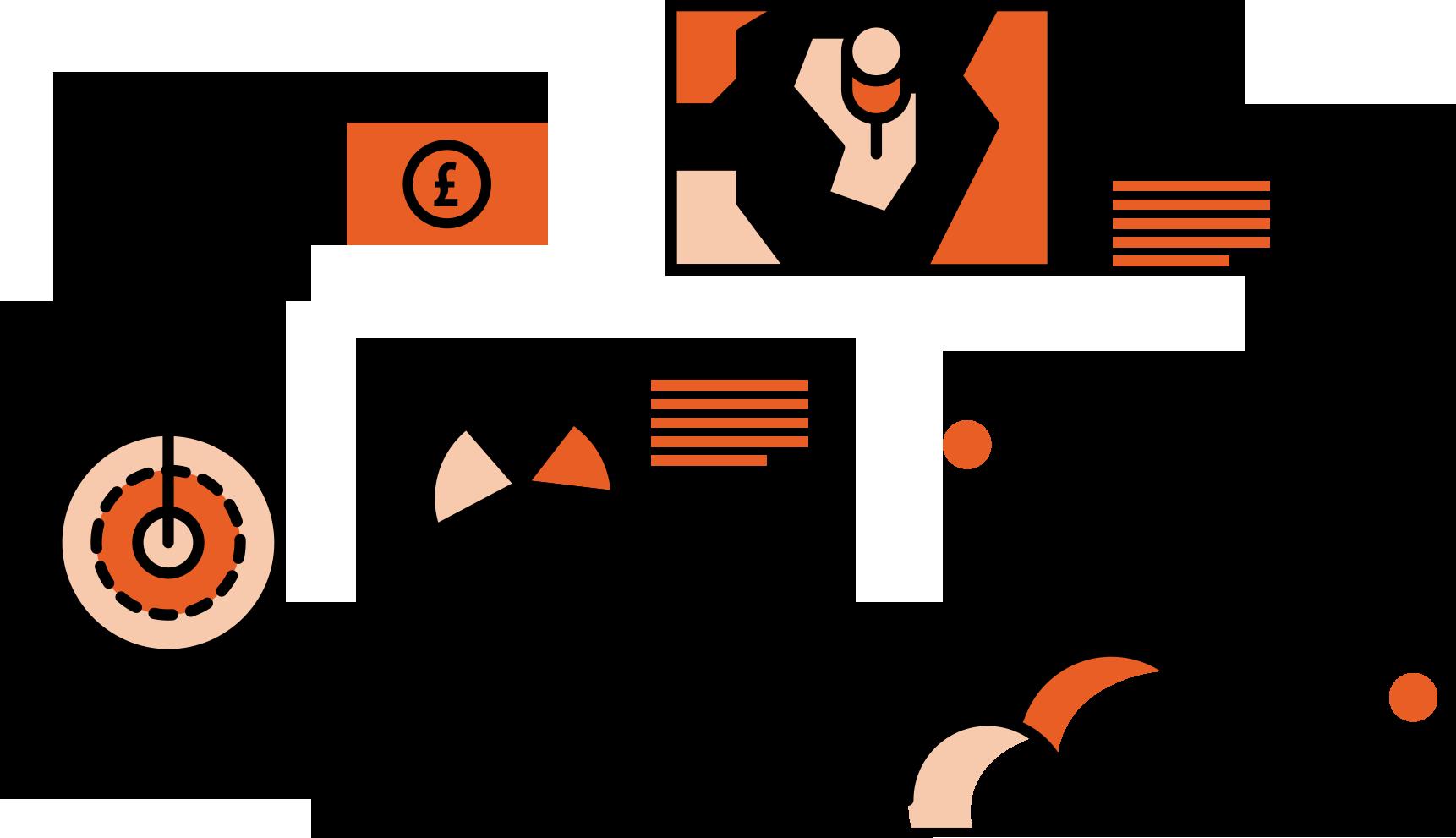 Contractor clipart business. Orange genie accountancy vs
