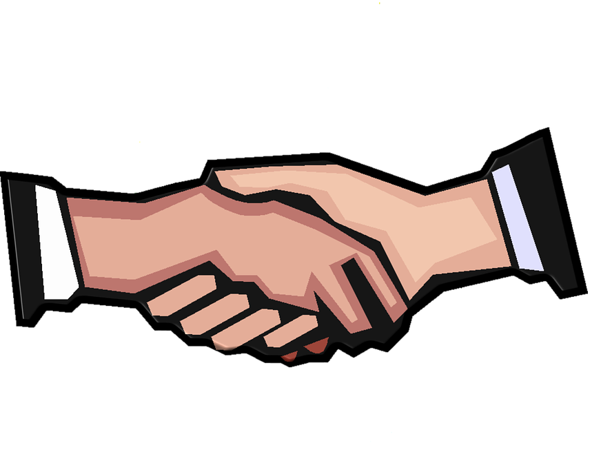 Handshake clipart animated. Collection of free guarantor