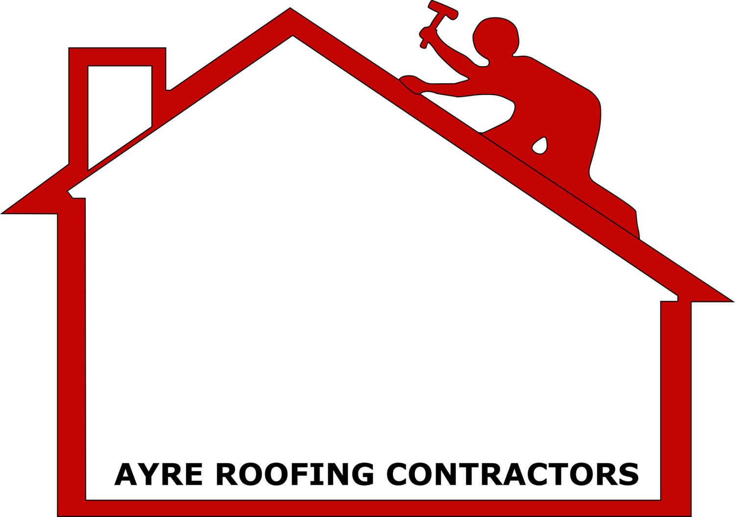 Ayre roofing . Contractor clipart church