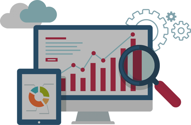 Website design and development. Technology clipart info tech