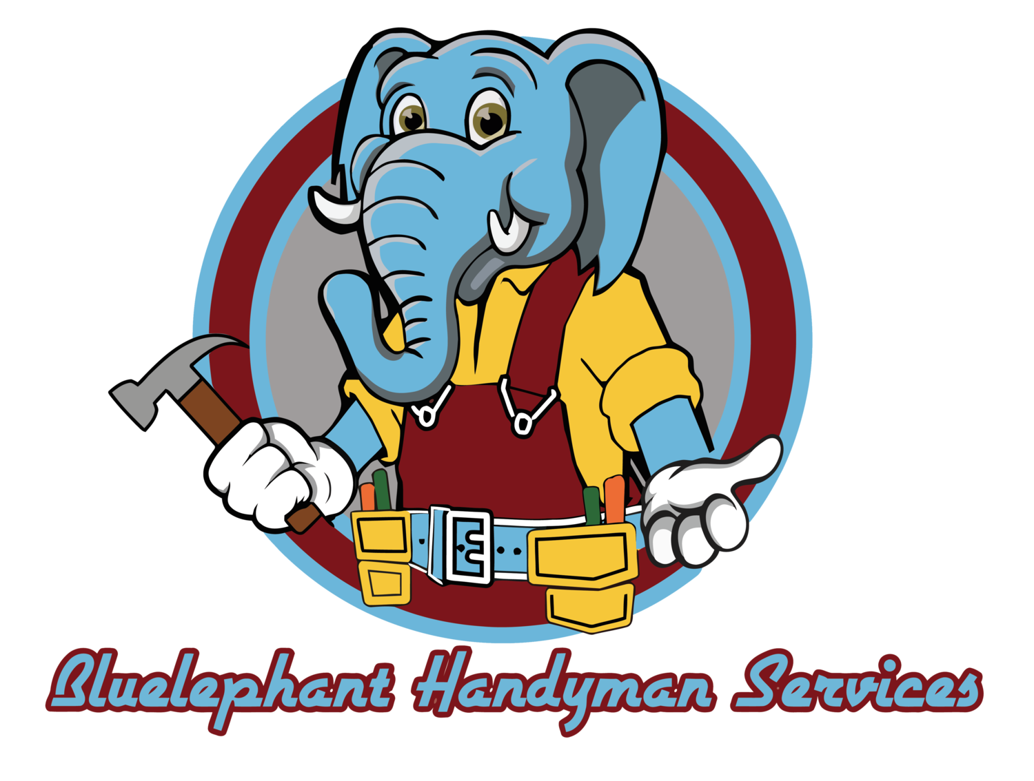 Honest clipart horizontal communication. Bluelephant construction ltd