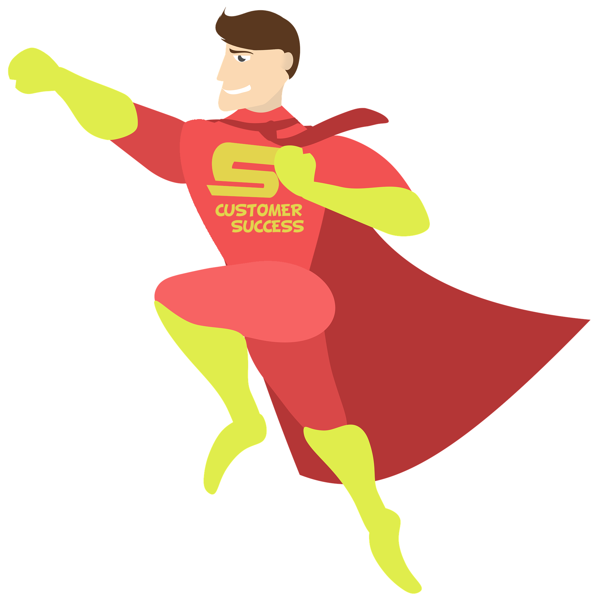 Why customer success matters. Manager clipart successful