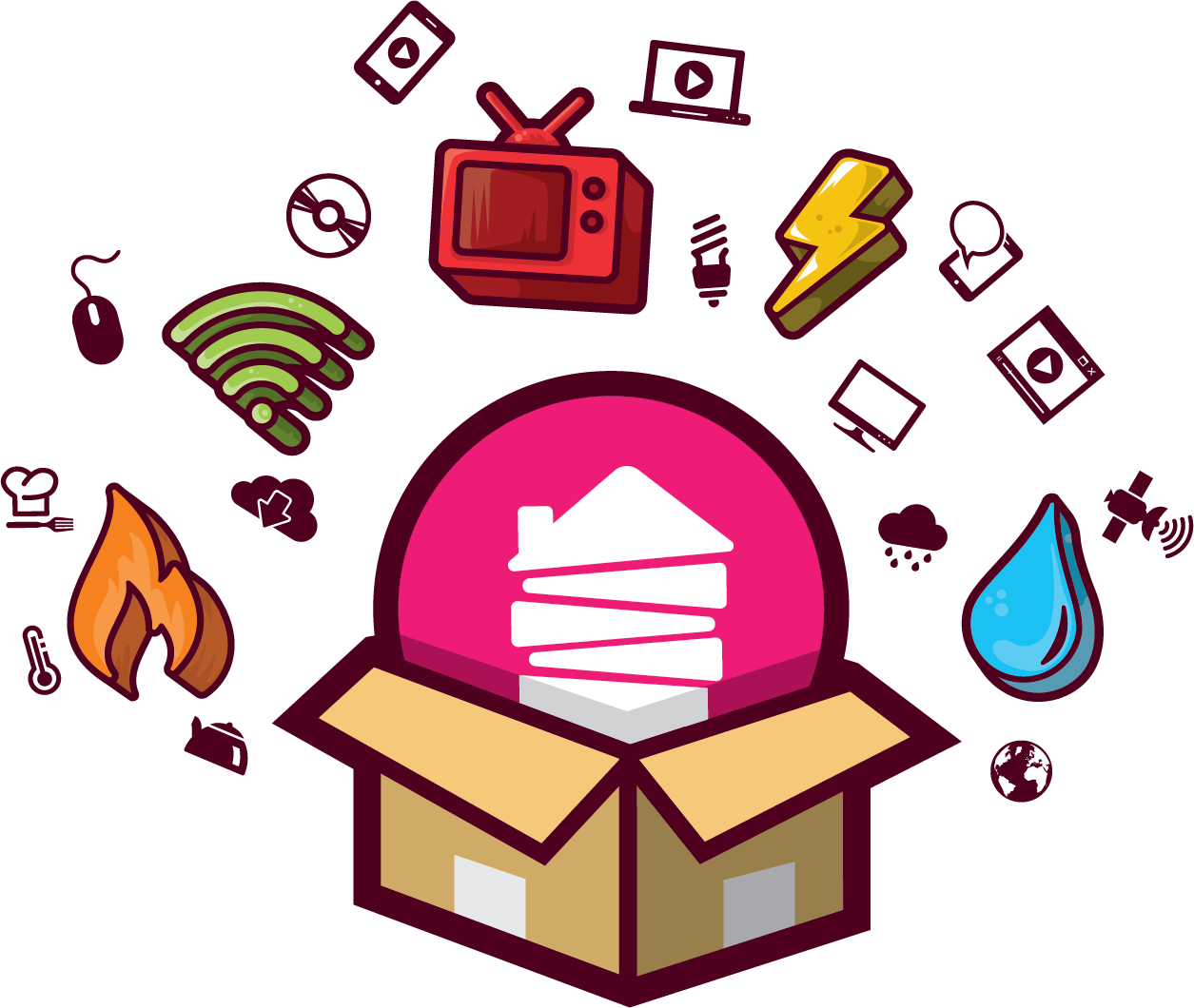 Shared bills services packages. Want clipart student need