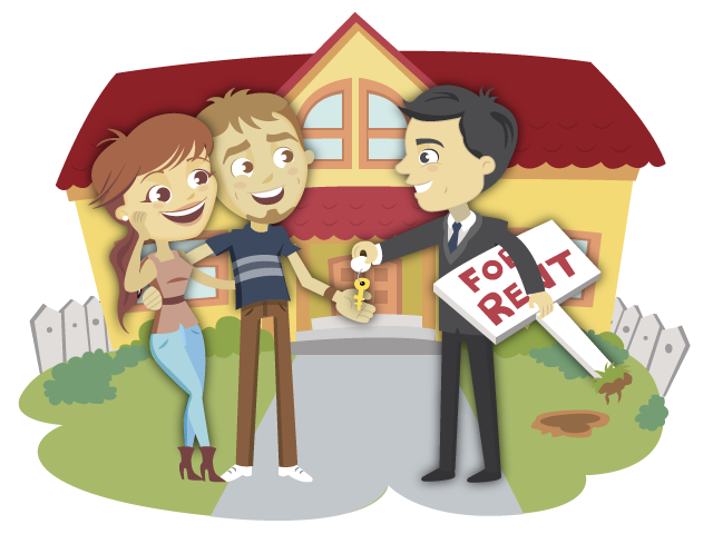The responsibilities of a. Contract clipart tenant