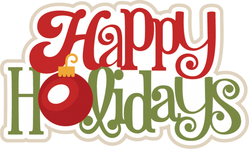 Schedule clipart card. Happy holidays procurement mentality