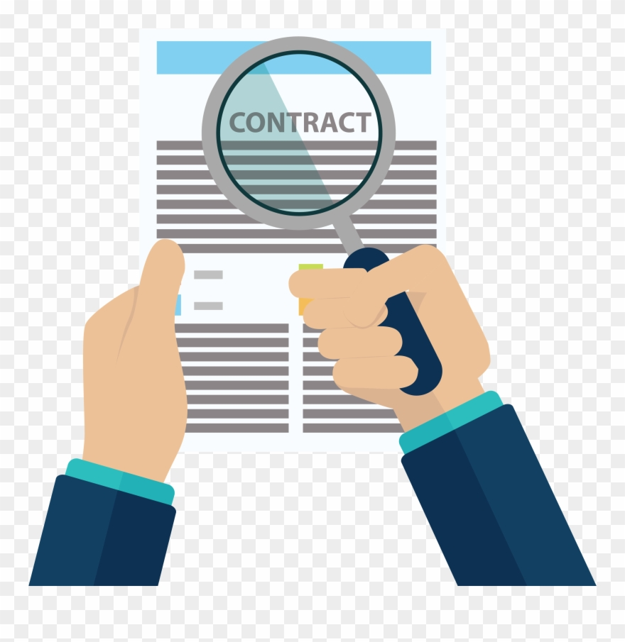 Contract clipart union. Jpg black and white