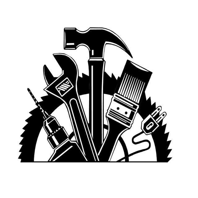 Construction general logos logo. Contractor clipart