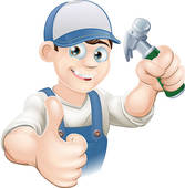 Contractor clipart. Clip art royalty free