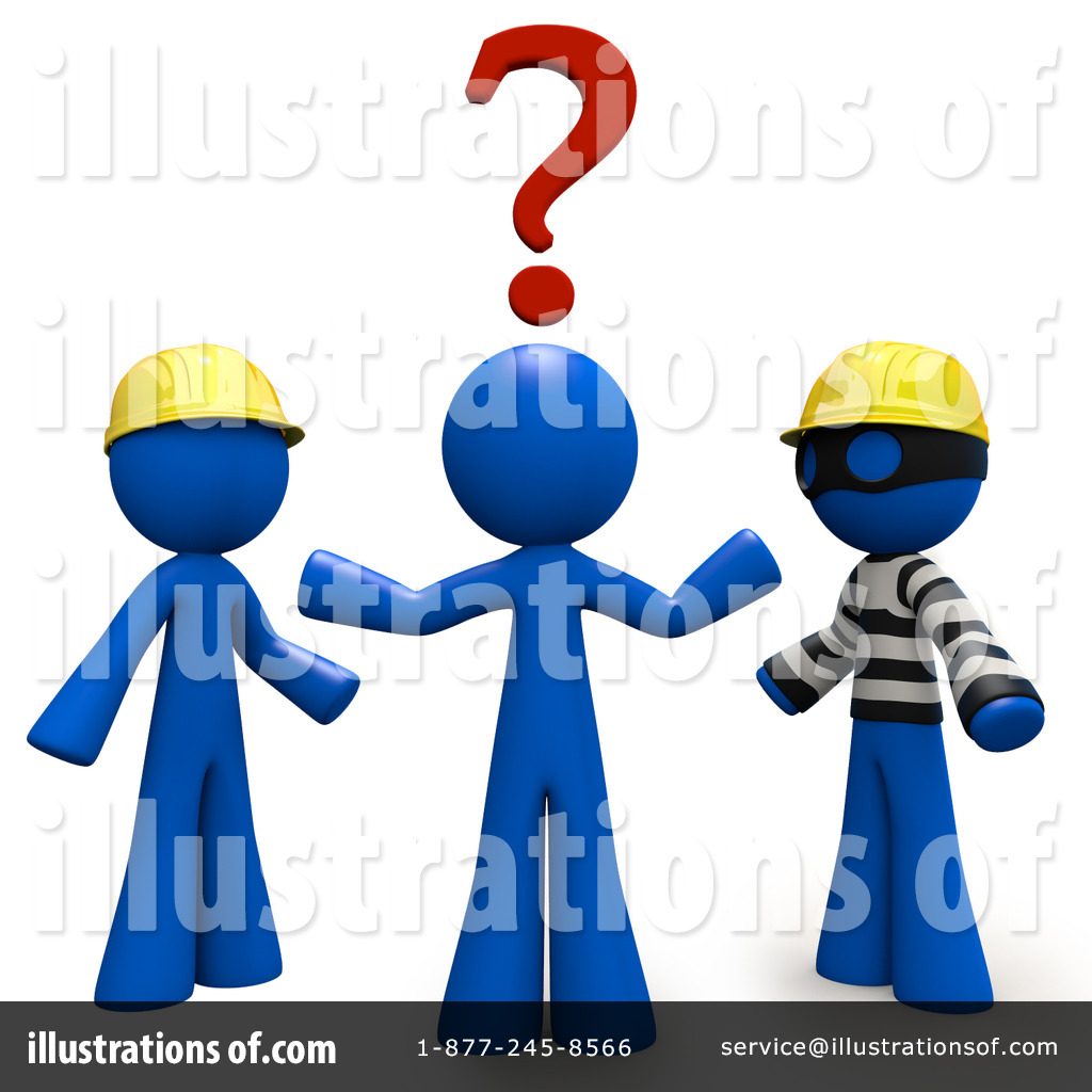 Illustration by leo blanchette. Contractor clipart