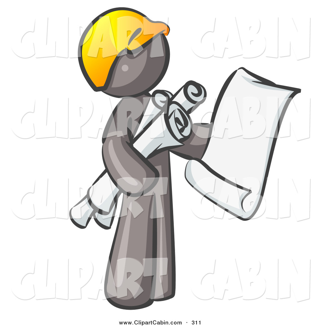 Collection of free download. Contractor clipart architect