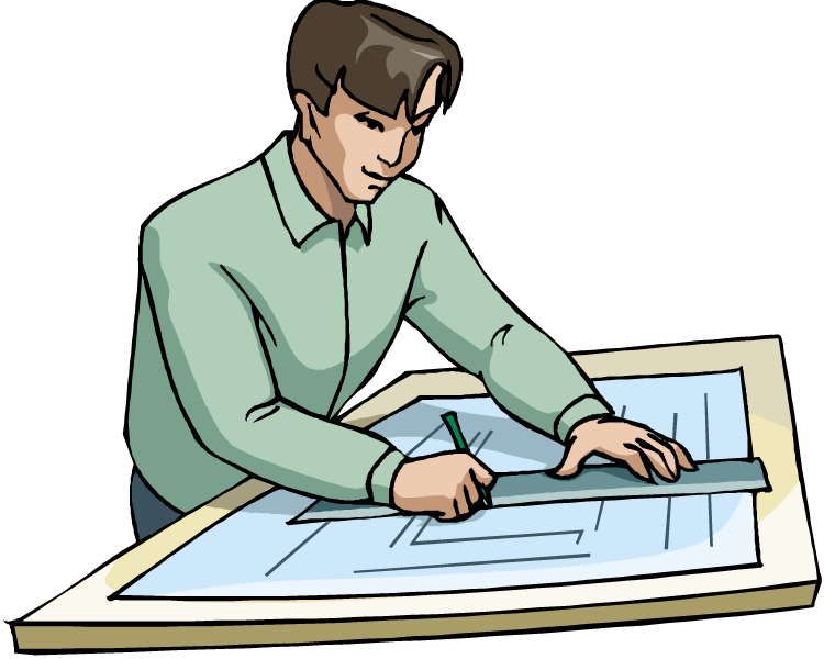 Contractor clipart architect.  reece przybylski career