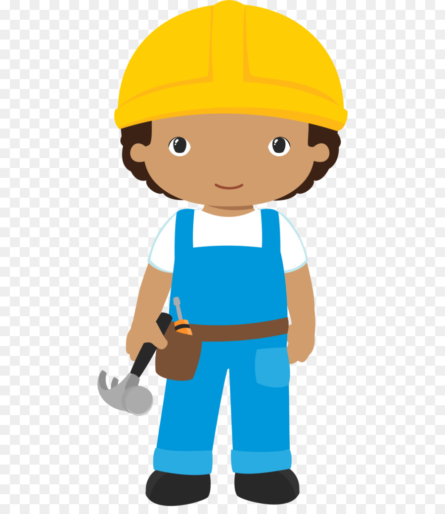 Contractor clipart boy. Child cartoon