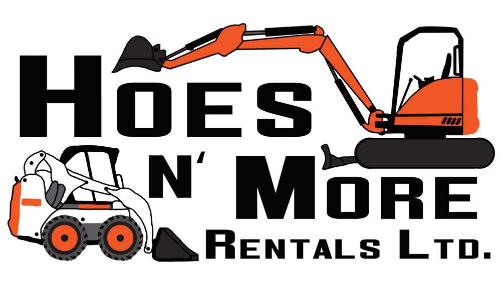 Hoes n more rentals. Contractor clipart construction equipment tool
