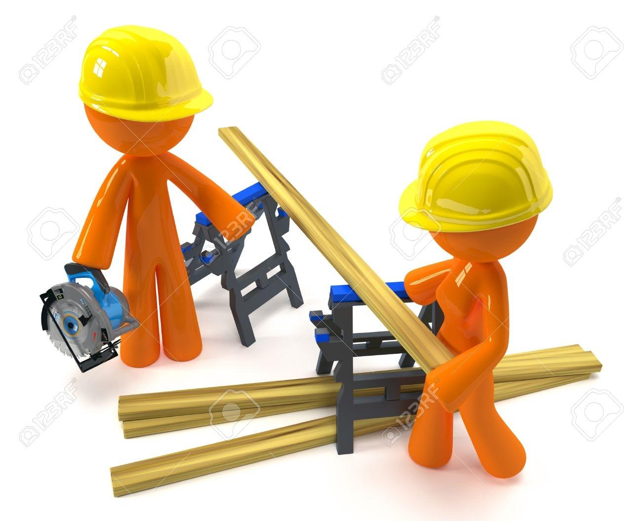 Project management dagny evans. Contractor clipart construction team