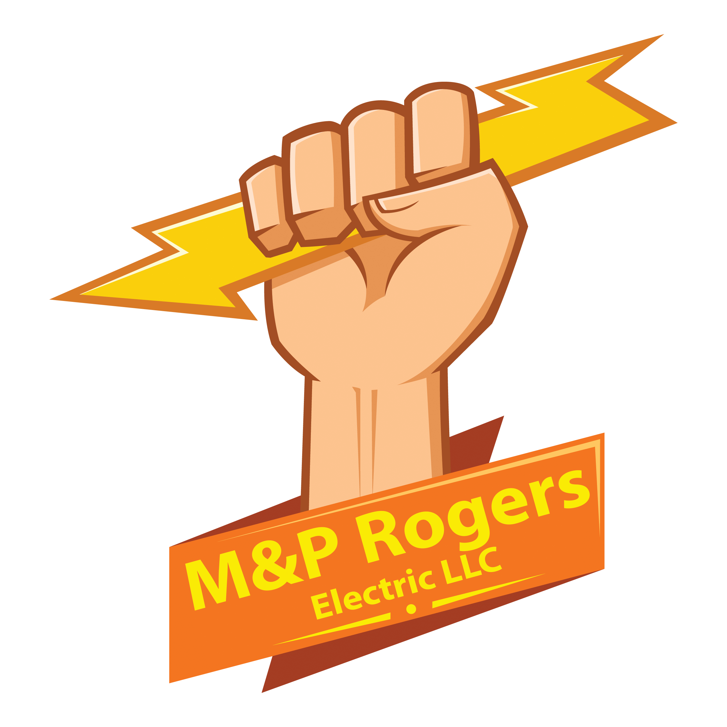 M p rogers electric. Contractor clipart electrical contractor
