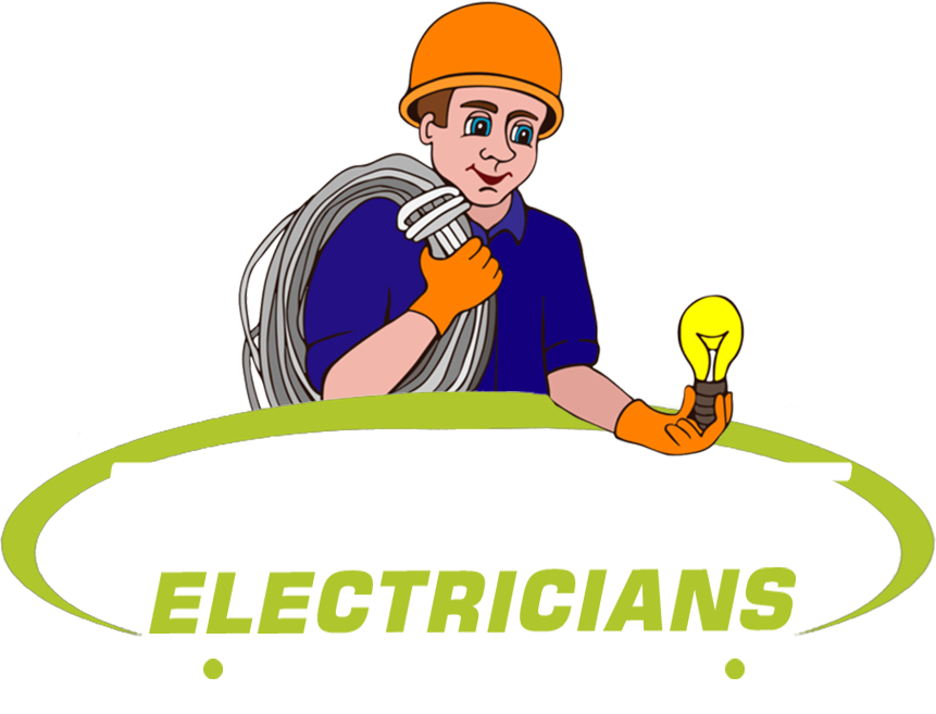 About us electrical service. Contractor clipart electrician