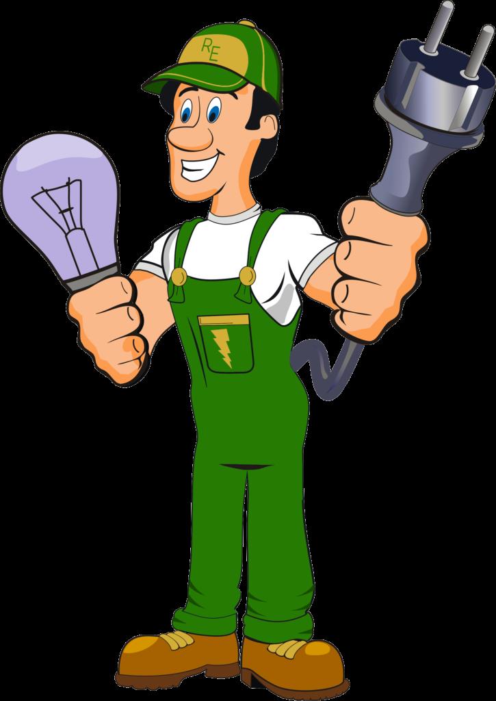 Electrician clipart female. Service akhilmass com installing