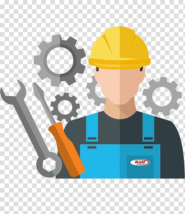 Contractor clipart engineering. Architectural construction worker laborer