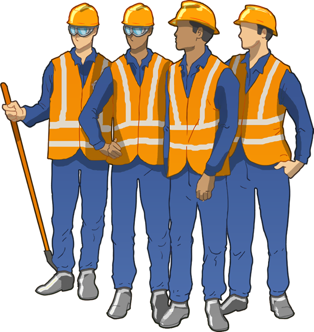 Contractor clipart factory worker. Hse we also ensure