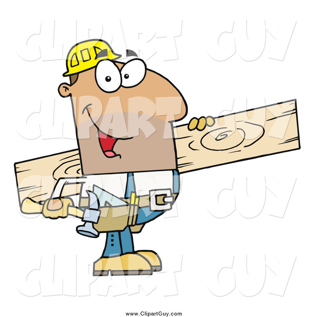 Contractor clipart hispanic man. Clip art of ahispanic