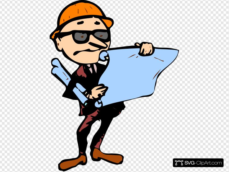 Contractor clipart maintenance department. Clip art icon and