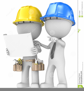 Cartoon free images at. Contractor clipart maintenance department